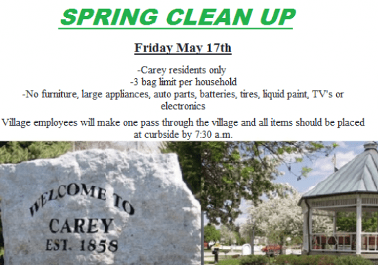 Spring Clean Up Day Slideshow