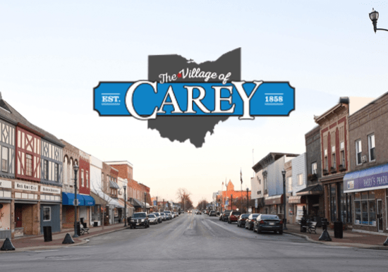 main street carey logo